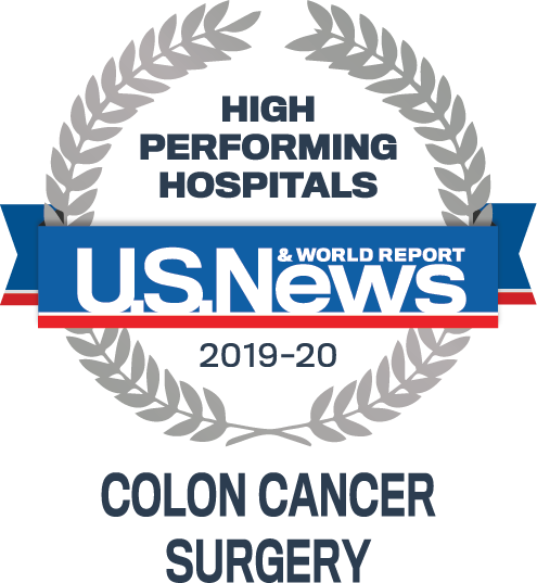 Icon |                          U.S. News and World Report - Colon Cancer Surgery
