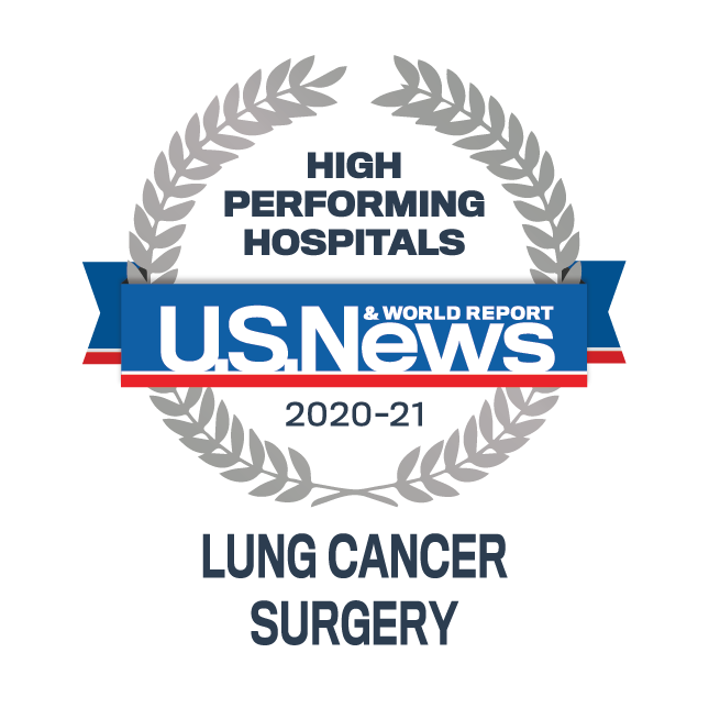 Icon |                          U.S. News and World Report - Lung Cancer Surgery